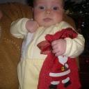 Дед мороз, где подарки, мешочек приготовила!