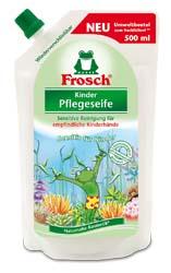 Frosch/Фрош  Ухаживающее мыло для рук Детское 500ml