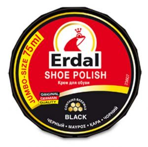 Крем для обуви в банке Erdal чорный 75 ml