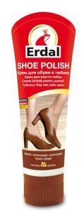 Крем для обуви в тюбике Erdal коричневый 60 ml