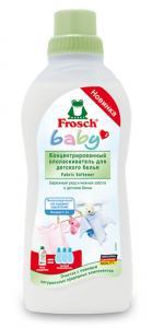 FROSCH  Baby Концентрированый опаласкиватель для детского белья 750 мл