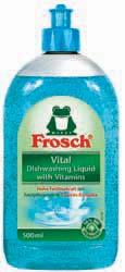 FROSCH / ФРОШ Vital Бальзам для посуды витаминный 500 ml