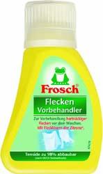 FROSCH Flecken / ФРОШ Пятновыводитель для текстиля 75ml