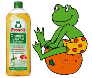 FROSCH / ФРОШ Универсальный очиститель апельсиновый 750 ml