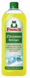 FROSCH / ФРОШ Универсальный очиститель лимонный 750 мл