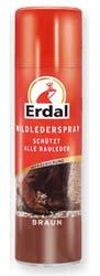 Erdal / Эрдал спрей уход за замшей коричневый 250 мл